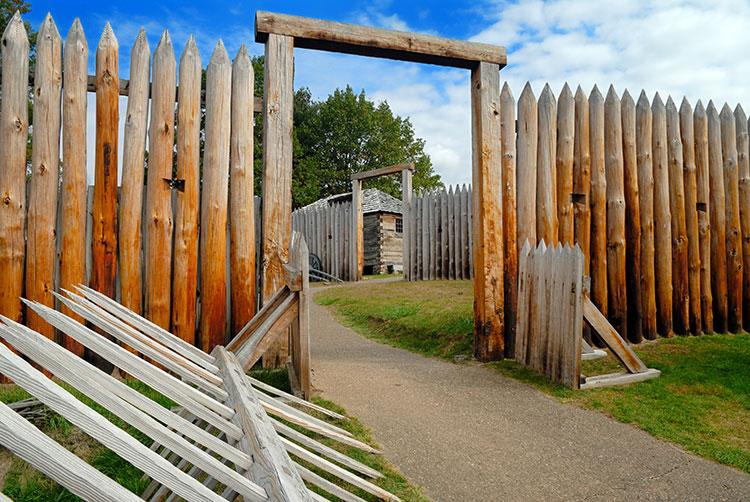 Fort Ligonier Palisade Gates