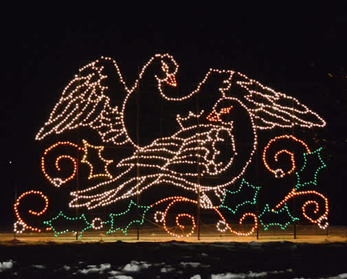 Holiday Light Spectacular at Nay Aug