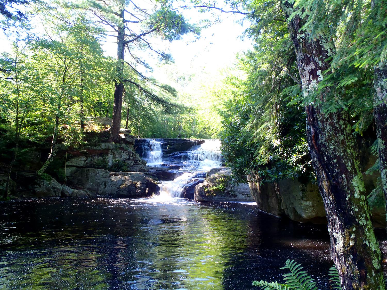 Choke Creek Falls, Pinchot State Forest