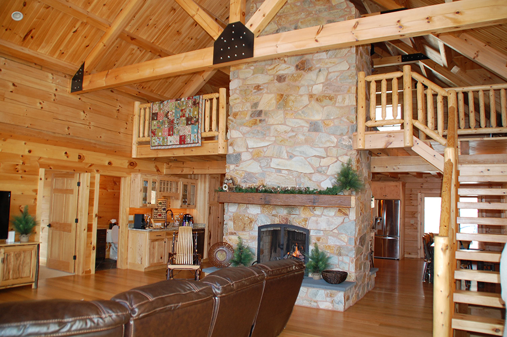 Winter Fireplace Getaway Experience