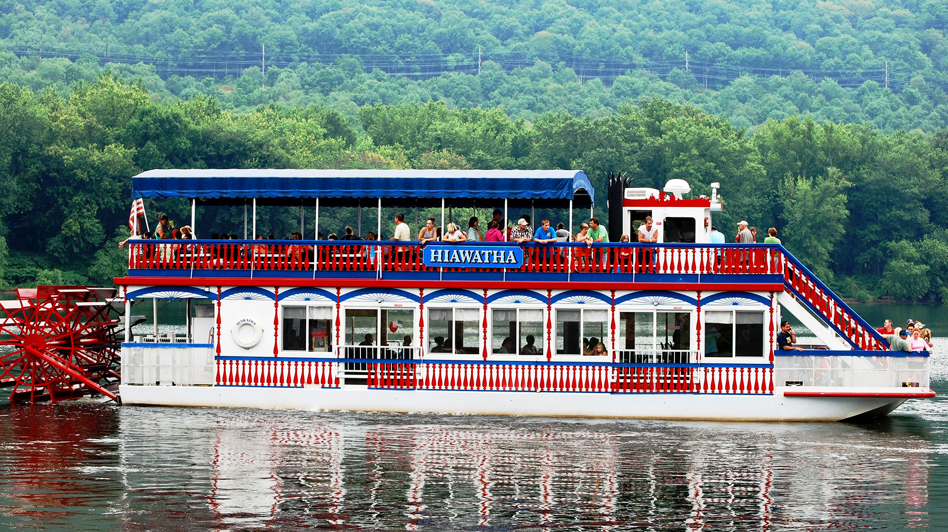 Hiawatha River Boat