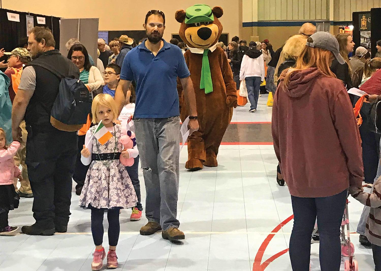 Yogi at the PA Family Travel Fair