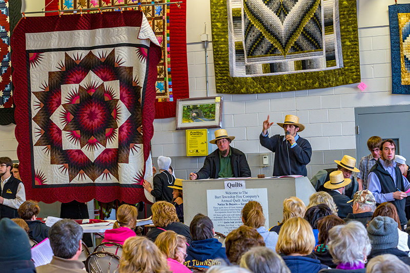 Lancaster County Mud Sale Quilt Auction 2