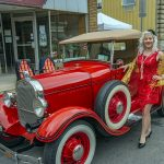Vintage Ford and Flapper