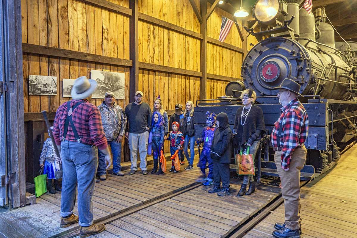 Lantern Tours at The Pennsylvania Lumber Museum
