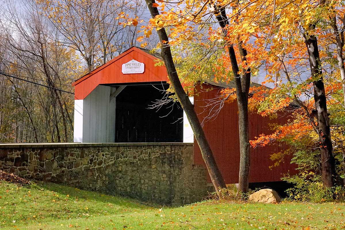 Pine Valley Covered Bridge, Bucks Co., PA
