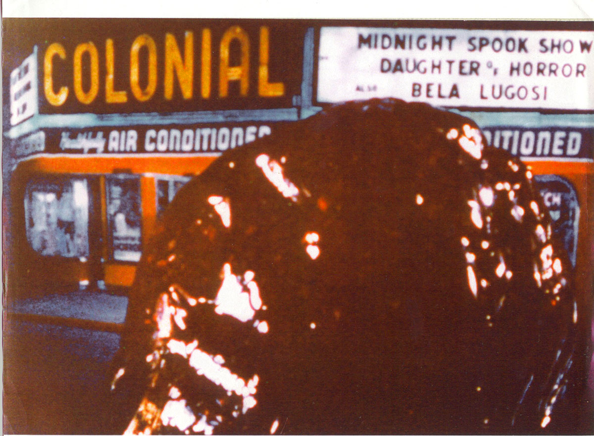 The Colonial Theater scene in The Blob
