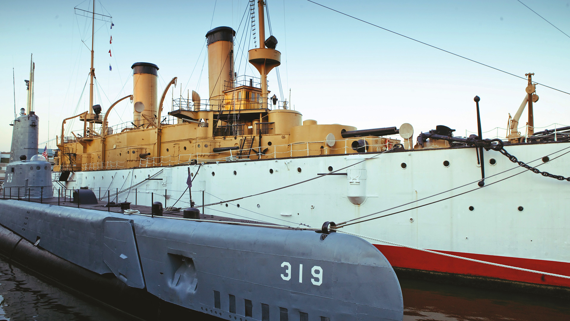 Olympia, Independence Seaport Museum, Phila