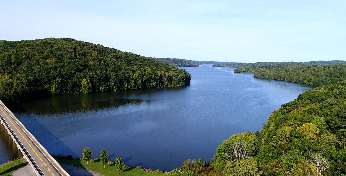 Lake-Arthur-at-Moraine-State-Park