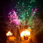 Fireworks at Lititz Springs Park